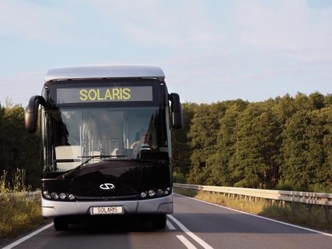 Solaris prezentuje autobus elektryczny