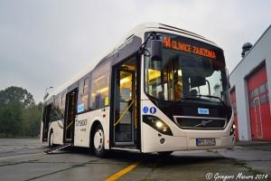 Czechowice-Dziedzice: Testy Volvo 9700 Hybrid