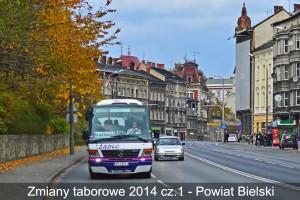 Zmiany w taborze przewoźników z Bielska-Białej i Powiatu Bielskiego