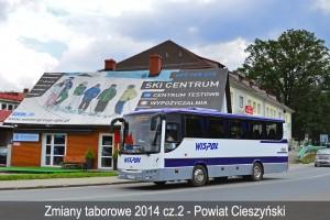 Zmiany w taborze przewoźników z Powiatu Cieszyńskiego