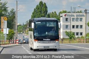 Zmiany w taborze przewoźników z Powiatu Żywieckiego