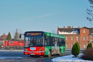 Czechowice-Dziedzice: Testy autobusu Solaris Urbino 8,9LE