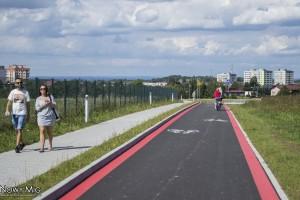Bielsko-Biała: Nowa ścieżka rowerowa wzdłuż ul. Dębowiec