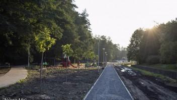 Bielsko-Biała: Powstaje nowa ścieżka rowerowa na Bulwarach Straceńskich