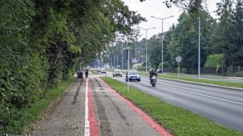 Bielsko-Biała: Zmiana oznakowania na ścieżce rowerowej wzdłuż ulicy Bystrzańskiej i Partyzantów