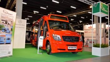 Transexpo 2016 – cz. 4: Minibusy Mercedesa