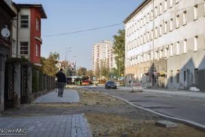 Bielsko-Biała: Nowy fragment ścieżki rowerowej wzdłuż ulicy Sempołowskiej