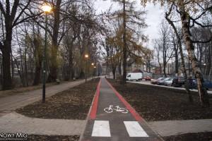 Bielsko-Biała: Nowy fragment ścieżki rowerowej wzdłuż ul. Sempołowskiej