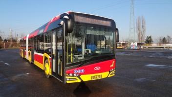 Bielsko-Biała: Pierwsze Solarisy dotarły już do MZK