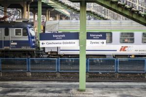 Bielsko-Biała: Nowe oznakowanie peronów