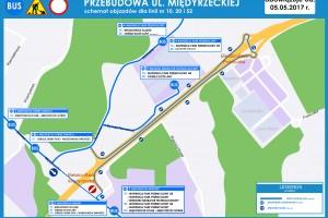 Bielsko-Biała: Objazdy w Wapienicy [linie: 10, 20 i 52]