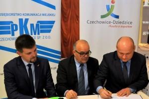 Czechowice-Dziedzice: Umowa na dostawę czterech nowych autobusów podpisana!