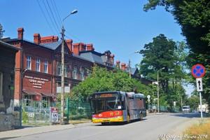 Bielsko-Biała: Rozpoczął się remont Sobieskiego. Autobusy pojadą objazdami [linia nr 7]