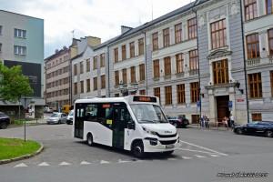 Cieszyn: Testy Iveco Daily 70C17 / SKD Stratos LF38 w ZGK Cieszyn