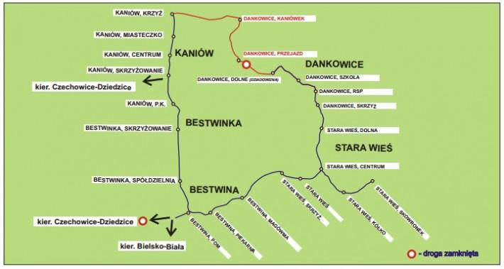 Objazd Dankowice