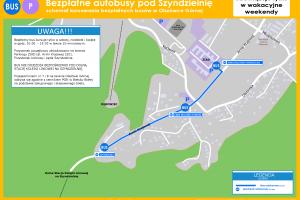 Bielsko-Biała: Bezpłatne autobusy pod Szyndzielnię [SCHEMAT]