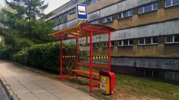 Bielsko-Biała: Nowa wiata przystankowa na Łagodnej